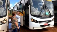 Rondônia: Ônibus sucateados serão levados para Ponta do Abunã