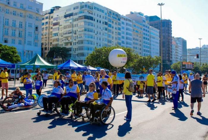Caminhada pela Paz no Trânsito mobiliza população contra os altos índices de acidentes