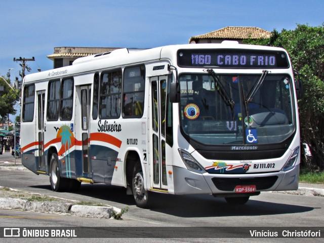 Viação Salineiras suspende ônibus em Cabo Frio por conta de tiroteios