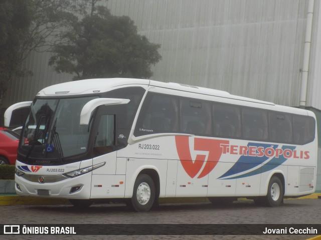 Viação Teresópolis adquire Paradiso New G7 1050 Scania