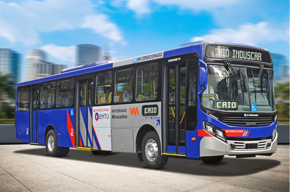 Viação Miracatiba renova parte de sua frota com ônibus Caio