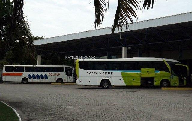 Angra dos Reis continua sendo destino de muitos passageiros, apesar dos intensos tiroteios
