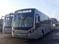 Ônibus articulados começarão operar no Guarujá nos próximos dias