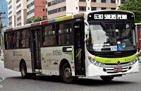 Motorista de ônibus urbano no Rio cria decoração neste domingo Dia das Mães