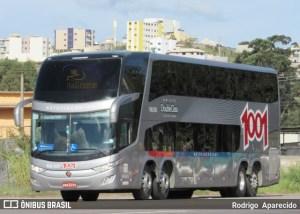 Viação Cometa escala DDs da 1001 na Rio x Belo Horizonte