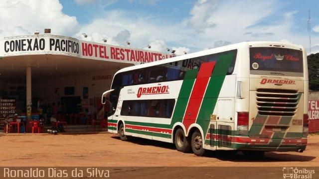 PRF prende homem após furtar celular em ônibus que seguia para o Peru