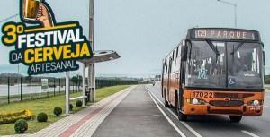 Festival da Cerveja Artesanal de Pinhais terá ônibus a cada 20 minutos