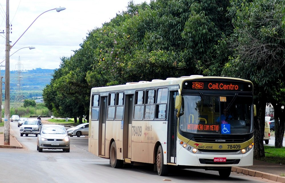 Rodoviários realizam paralisação nesta manhã de terça-feira em Ceilândia