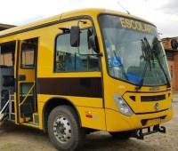 SP: ônibus escolar é frutado em Rio Claro