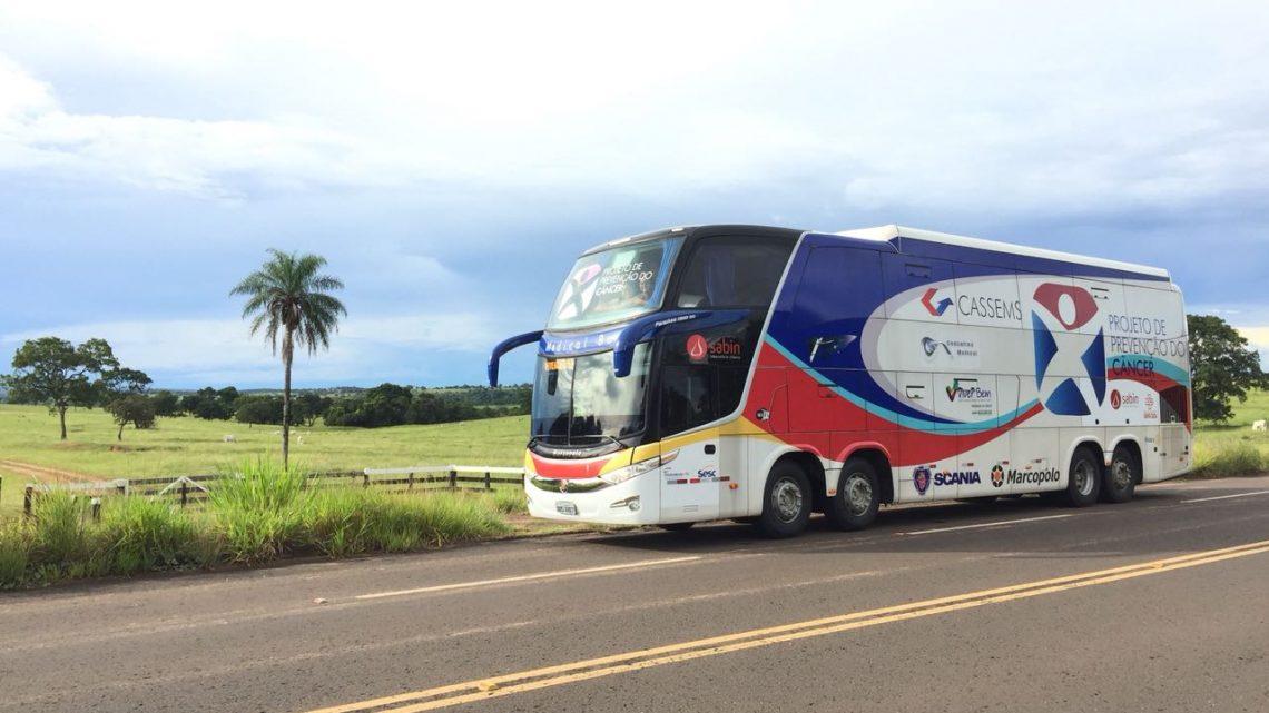 Mundo Novo recebe atendimento com programa de prevenção 'Ônibus de Saúde' neste sábado