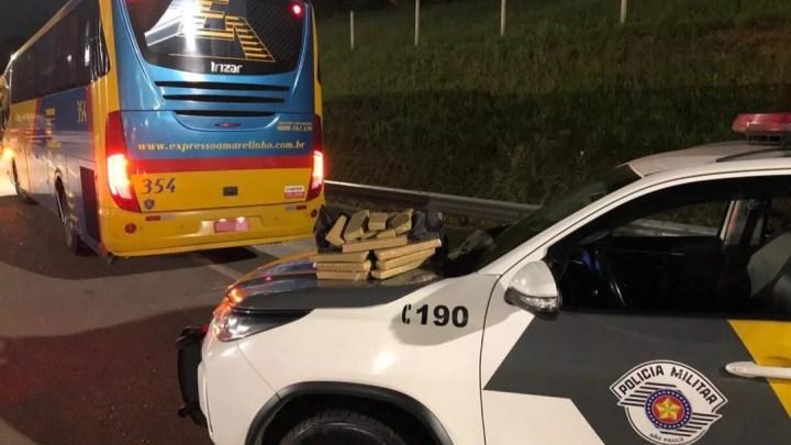 Polícia prende mulher com drogas em ônibus em Capão Bonito