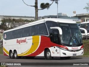 Viação Regional adquire Paradiso New G7 1350 Mercedes-Benz