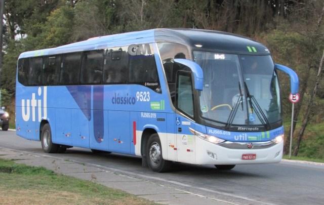 Util disponibiliza ônibus extras na BH x Angra dos Reis durante a Flip 2019