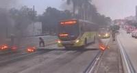 BH: Polícia Civil abre inquérito para apurar queima de pneus após morte de mulher