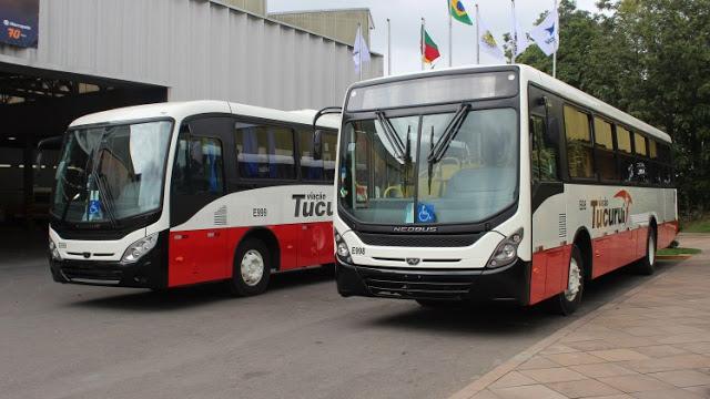 Viação Tucuruí do Pará renova com dois novos ônibus