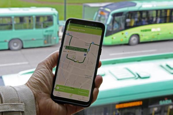 Aplicativo Curitiba 156 traz Informações dos ônibus da cidade