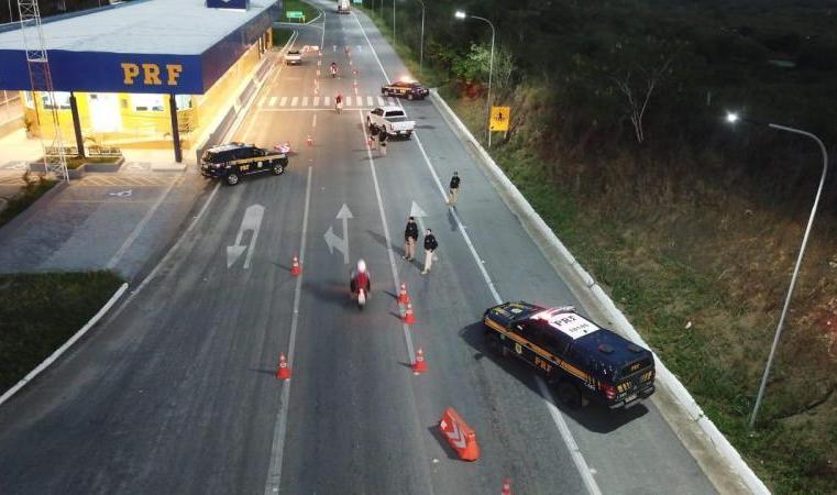 Fiscalização da PRF flagra 57 motoristas dirigindo bêbados na Paraíba