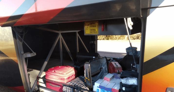 Polícia Militar Rodoviária apreende contrabando em ônibus no Paraná