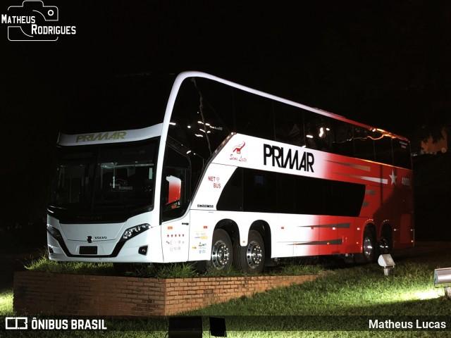 Primar Viagens surge com novo Busscar Vissta Buss DD Volvo 8×2 em Botucatu