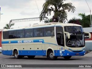 Ônibus da Viação Novo Horizonte tomba na BR-242 na Bahia e deixa 15 feridos