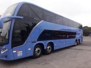 Expresso Guanabara adquire dois Busscar Vissta Buss DD Mercedes-Benz 8x2