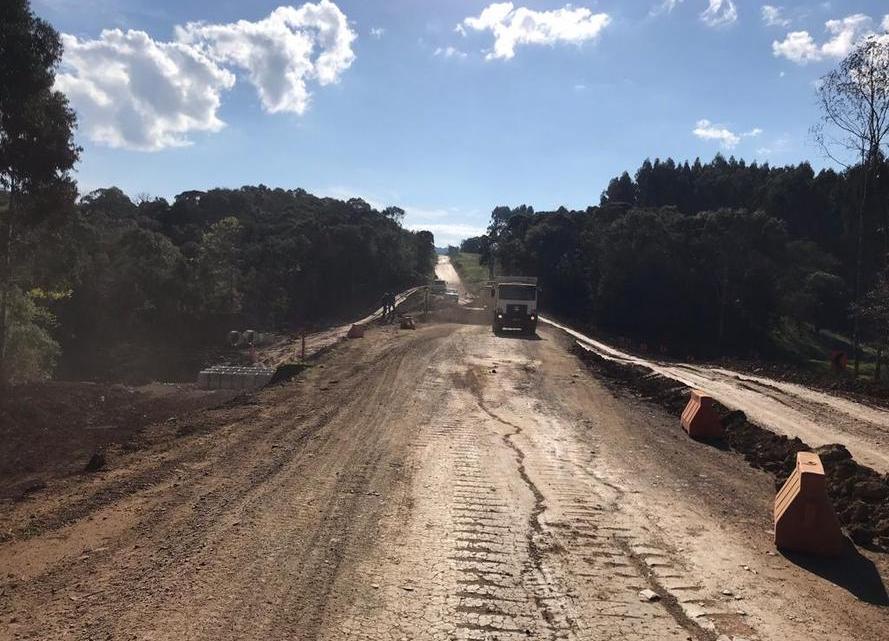 Rodovia PR-364 segue com obras de melhorias até 2020