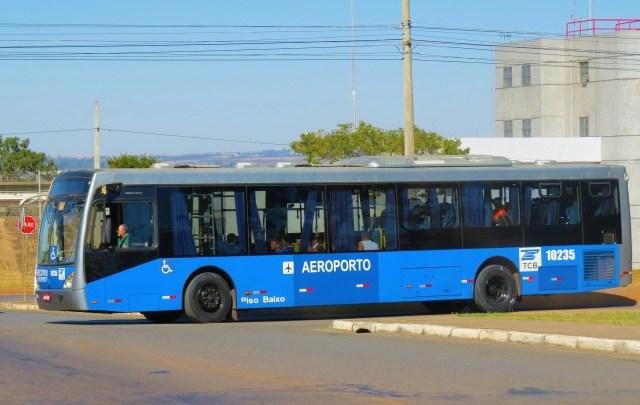 Brasília: ônibus executivo do aeroporto segue com tarifa mais barata