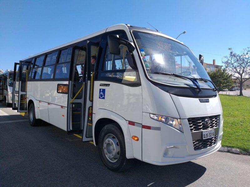 Florianópolis começa testar novos micro-ônibus