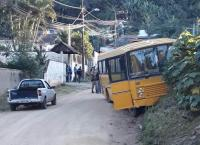 SC: Homem morre atropelado por ônibus em Indaial