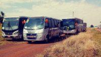 RS: Daer apreende oito ônibus durante fiscalização no Médio Alto Uruguai