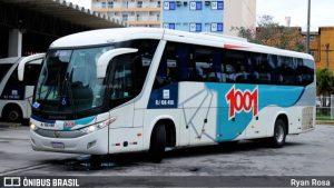 Viação 1001 oferece passagem na Rio x São Paulo por R$ 37,78