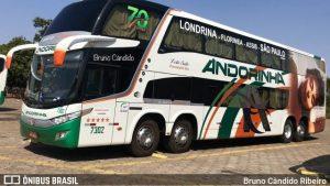 Viação Andorinha escala DD Leito na São Paulo x Londrina
