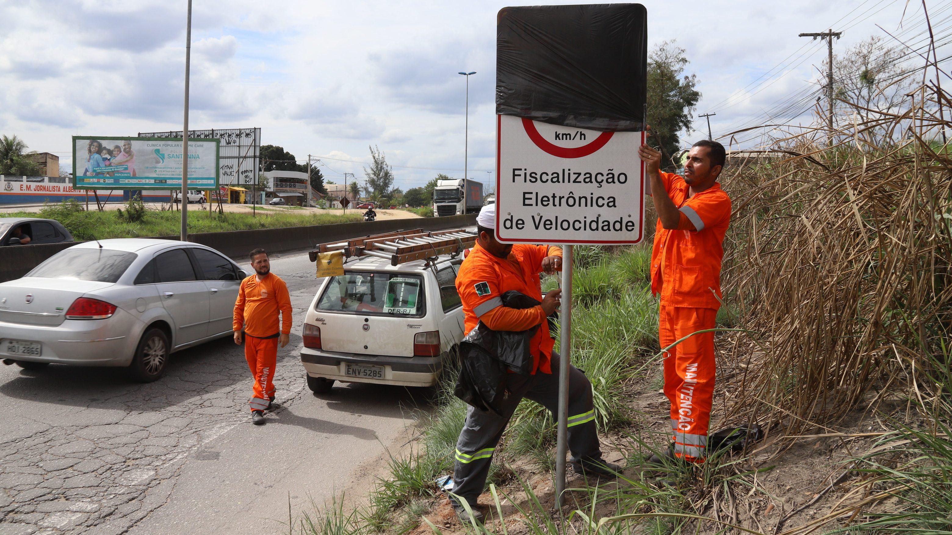 DER-RJ desliga 15 radares em estradas estaduais
