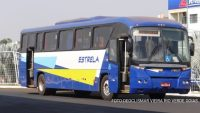 Ônibus rodoviários de duas portas chama atenção em Goiás