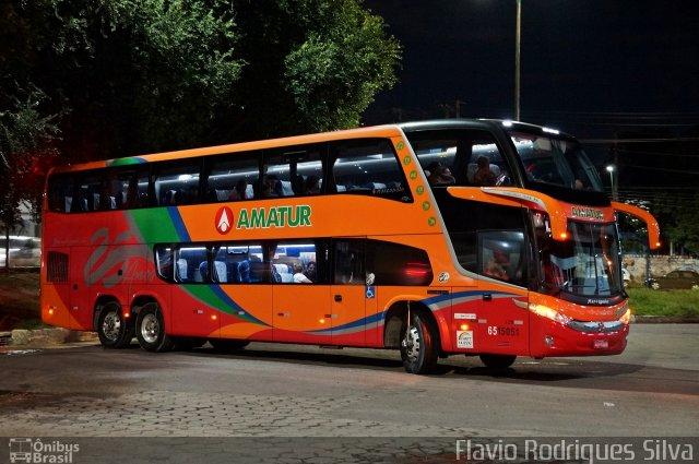 Manaus x Boa Vista com muito mais conforto a bordo de ônibus Double Decks