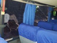 Ônibus de time de futebol é apedrejado em Honduras