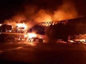 Acidente com ônibus da Viação Gontijo deixa 3 mortos e 28  feridos na BR-365