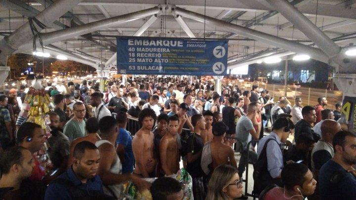 Operação do BRT Rio fracassa no primeiro dia do Rock in Rio 2019