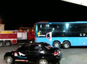 Mais um ônibus é incendiado no interior do Ceará