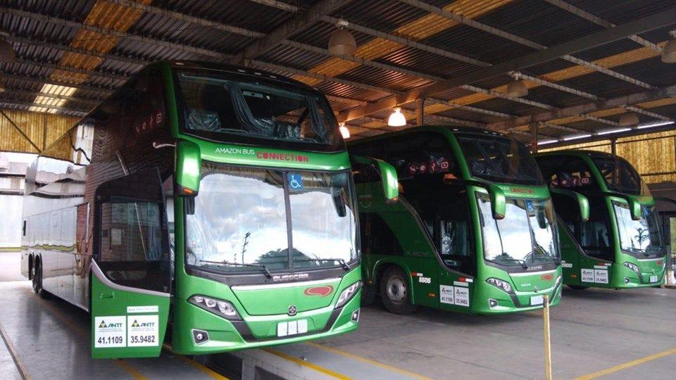 Eucatur surge com novo Vissta Buss DD e chama atenção