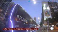 Record Tv Rio aposta em ônibus para promover a Fazenda 11