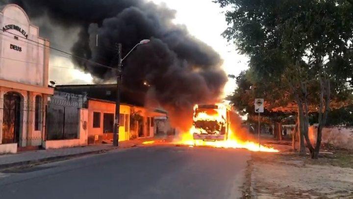 Grande Fortaleza segue com frota de ônibus reduzida após ataque de bandidos