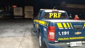 PRF prende na Via Dutra motorista de ônibus com mandado de prisão em aberto