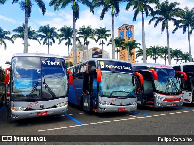Movimento de ônibus em Aparecida é intenso neste fim de semana