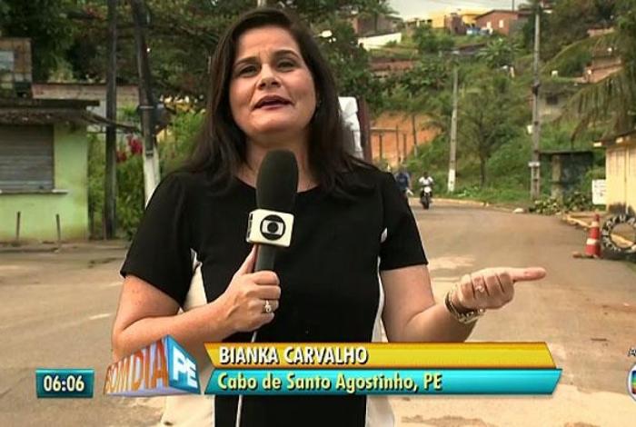 Revista Do ônibus Bom Dia Pernambuco