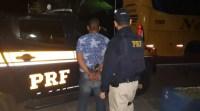 PRF prende ônibus armado em ônibus da Viação Nordeste