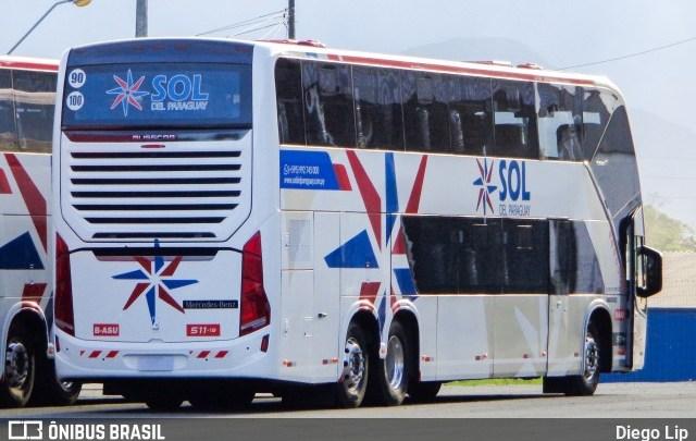 Sol del Paraguay adquire dois novos Vissta Buss DD