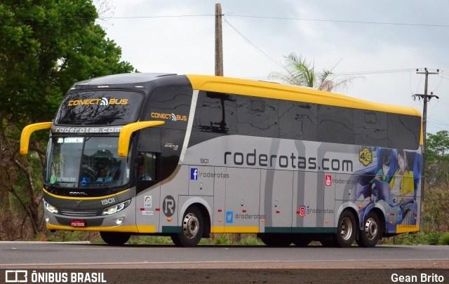 Rode Rotas escala Comil Volvo na linha Goiânia x Belém