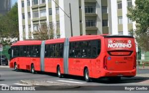 Passageiro é esfaqueado dentro de ônibus biarticulado em Curitiba durante assalto