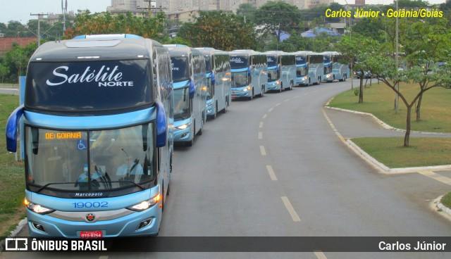 Expresso Satélite Norte mostra sua nova frota de ônibus